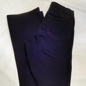 NYDJ Black Flare Jeans - size 6